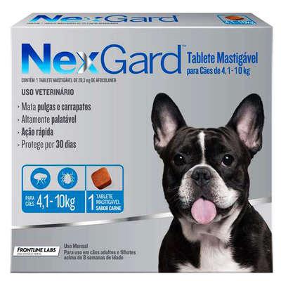Anti-Pulgas-e-Carrapatos-Merial-NexGard-28 3-mg-Cães-de-4 1-a-10-Kg
