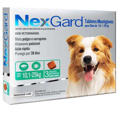 Anti-Pulgas-e-Carrapatos-Merial-NexGard-68-mg-Cães-de-10 1-a-25-Kg 3
