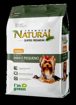 Fórmula Natural Super Premium Cães Adultos Porte Mini e Pequeno